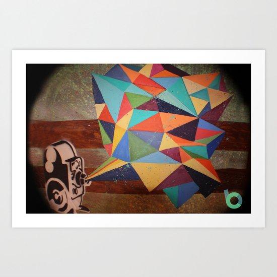Projector Art Print