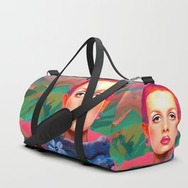 """She was always a Pop Girl (Twiggy)"" Duffle Bag"