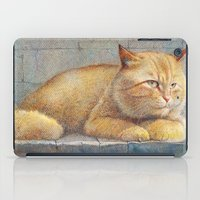 ginger iPad Cases featuring Ginger by irshi
