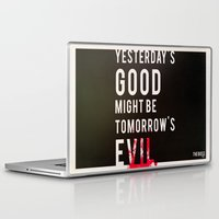 metal gear solid Laptop & iPad Skins featuring Metal Gear Solid Quote by Alaska_