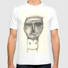 Protected Mens Fitted Tee White SMALL