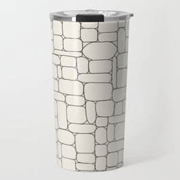 Stone Wall Drawing #3 Travel Mug