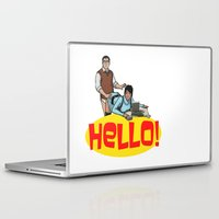 archer Laptop & iPad Skins featuring Hello! - Archer by CDW1