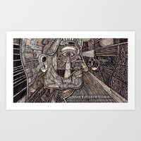 Headspace (Still Frame 3) Art Print