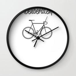 Live Life Deliberately Wall Clock