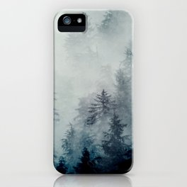 The hollows in fall iPhone Case