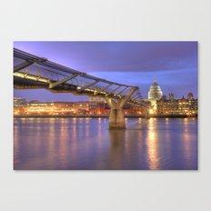 St Pauls and The Bridge Canvas Print