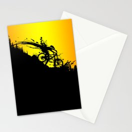 MTB Drop colors Stationery Cards