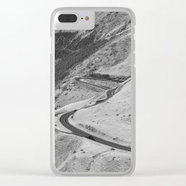 Transfagarasan #1 Clear iPhone Case