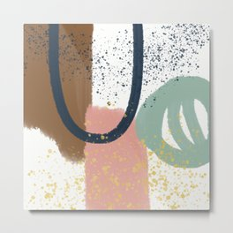 Minimalist Abstract Metal Print
