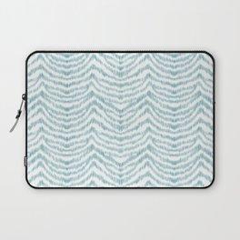 """Turquoise zebra pattern """"Sebrina"""" Laptop Sleeve"""