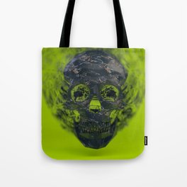 Skull Explotion Tote Bag