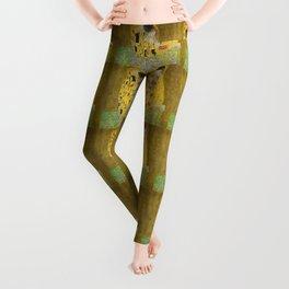 """Gustav Klimt """"The Kiss"""" Leggings"""