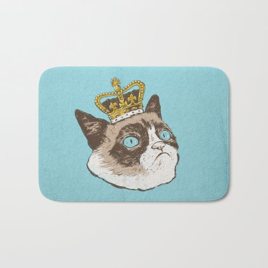 Grumpy King Bath Mat