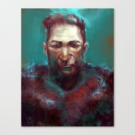Man of the North Canvas Print