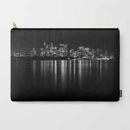 Sydney Cityscape B&W Carry-All Pouch