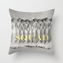SQUAD Throw Pillow