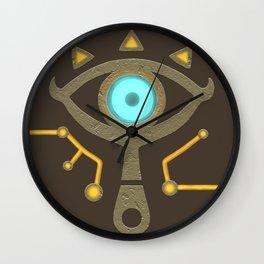 Sheikah Slate Wall Clock