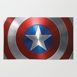 CAPTAIN STEVE ROGERS SHIELD Rug