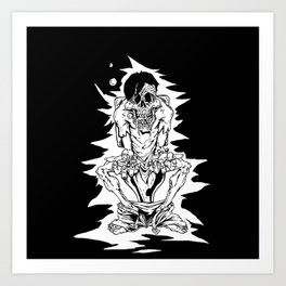 Amenity Affliction  Art Print