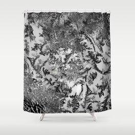 Fluids B7W Shower Curtain