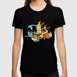 Pokémon - Number 133, 134, 135 and 136 T-shirt