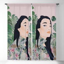 Plantladies 01 Blackout Curtain
