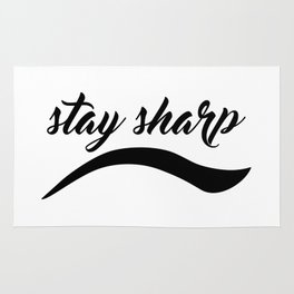 Stay Sharp Rug