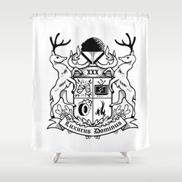 Luxurus Dominus Shower Curtain