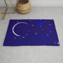 the light of the moon Rug