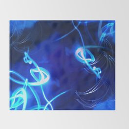 Cold Fusion Ignited Throw Blanket