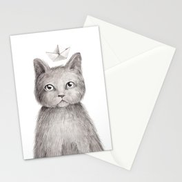 Dream cat Stationery Cards