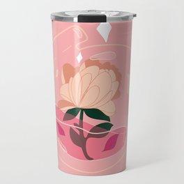 Magic flower Travel Mug