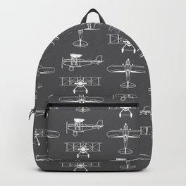 Biplanes // Charcoal Backpack
