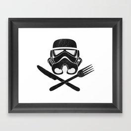 Eat Geek Play Logo Framed Art Print