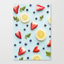 Strawberry Lemonade Canvas Print