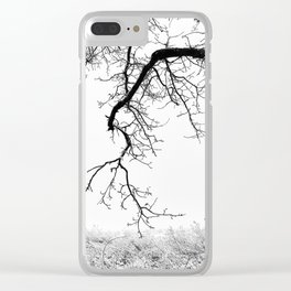 Edge Of Nothing Clear iPhone Case