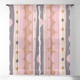 Rick Rack Candy Sheer Curtain