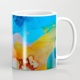 The Right Path - Colorful Abstract Art By Sharon Cummings Coffee Mug