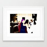 jewish Framed Art Prints featuring Jewish wedding by Design4u Studio