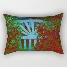 Door to the Garden Rectangular Pillow