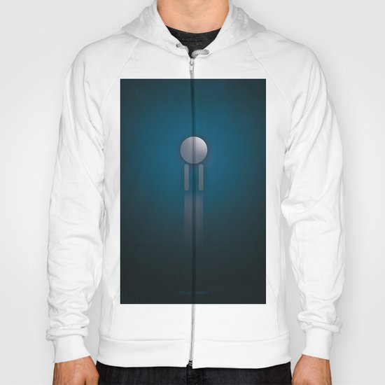 SMOOTH MINIMALISM - Star Trek Hoody