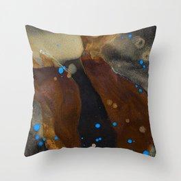 joelarmstrong_rust&gold_048 Throw Pillow