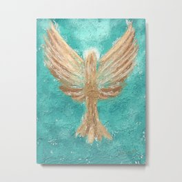 Graveel Angel of Peace Metal Print