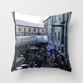 Camden Market Throw Pillow