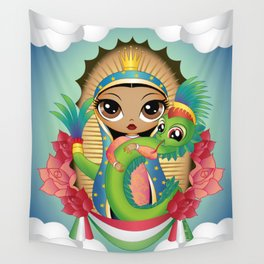 Gods of Mexico Wall Tapestry