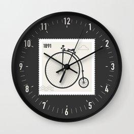 Penny Farthing 1891 Wall Clock