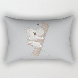 I Love You Too Rectangular Pillow