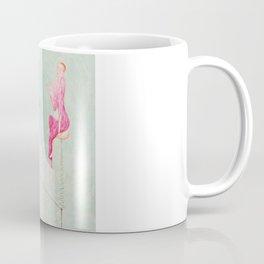 "Florine Stettheimer ""Portrait of Marcel Duchamp and His Alter Ego Rrose Sélavy"" Coffee Mug"