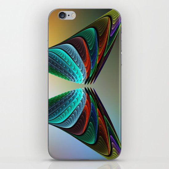 Fractal Butterfly iPhone & iPod Skin